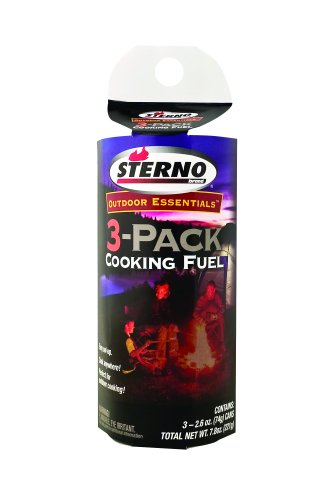 Sterno 2.6-Ounce Outdoor Cooking Fuel, 3-Pack - Sterno at Sears.com