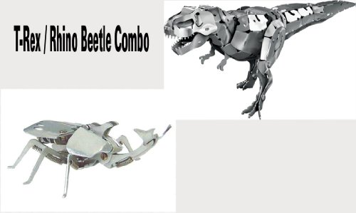 OWI-353/OWI-371 Rhino Beetle & T-Rex Aluminum Kit Combo