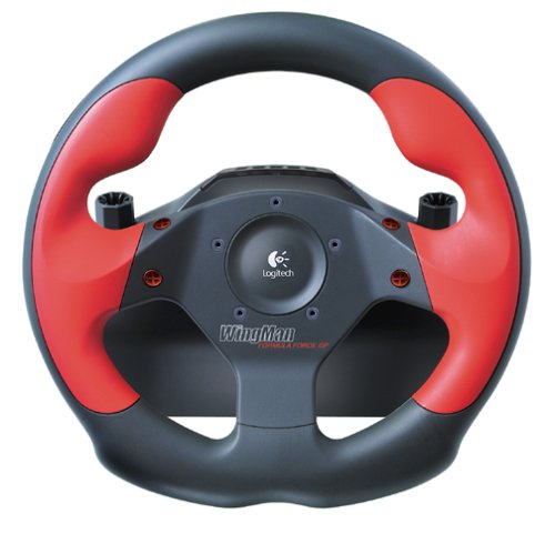 Logitech WingMan Formula Force GP Wheel with Pedals