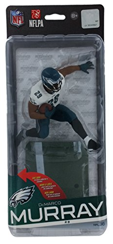 McFarlane Toys NFL Philadelphia Eagles Sports Picks Series 36 DeMarco Murray Action Figure [White Jersey Green Pants]
