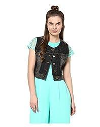 Yepme Women's Blue Cotton Denim Jackets - YPMJACKT5093_L