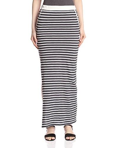 byTiMo Women's Stipe Maxi Skirt