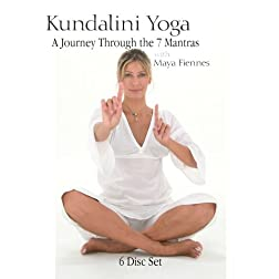 Kundalini Yoga: A Journey Through the 7 Mantras with Maya Fiennes - 6 DVD Set (Amazon.com Exclusive)