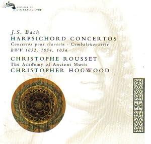 Bach: Harpsichord Concertos, Vol 2 (BWV 1052, 1054, 1056; Violin concerto BWV 1042) /Rousset * Schroder * AAM * Hogwood