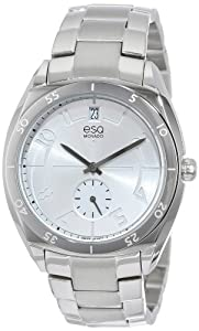 ESQ Movado Women's 07101400 esq ORIGIN tm Tonneau-Shaped Stainless Steel Watch