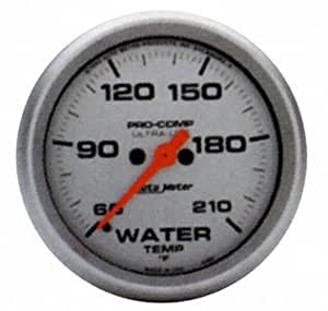 Auto Meter 4369 Ultra-Lite Electric Water Temperature Gauge