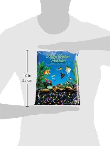eau pure galets pour aquarium gravier 5 pound lasernite glo. Black Bedroom Furniture Sets. Home Design Ideas