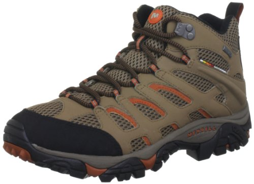 Merrell MOAB MID GTX Trekking & Hiking Shoes Men brown Braun ((OTTER J41413)) Size: 8.5 (43 EU)