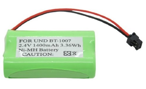 Mogoi(Tm) Ni-Mh Rechargeable Battery For Uniden Bt-1007 Cordless Phone With Mogoi Accessory Wire Winder