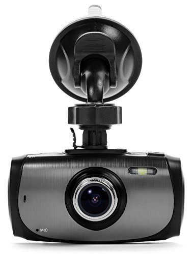 "Black Box G1W-X Dashboard Dash Cam - Ultra Wide 170° 4X Zoom 6G Glass Lens - Full HD 1080P 2.7"" LCD Car DVR Camera Video Recorder with G-Sensor WDR Night Vision Motion Detection - NT96650 + AR0330"