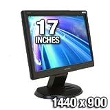 "HANNS.G HW173ABB - LCD display - TFT - 17"" - widescreen - 1440 x 900 - 250  ...."