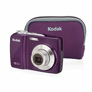 Kodak EasyShare C182 Digital Camera Bundle(Purple)
