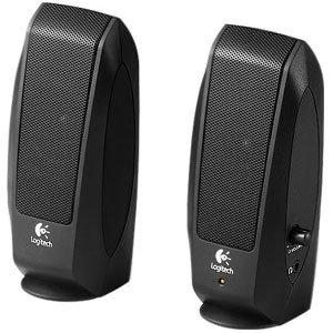 Logitech S120 2.0 Multimedia Speakers (Black)