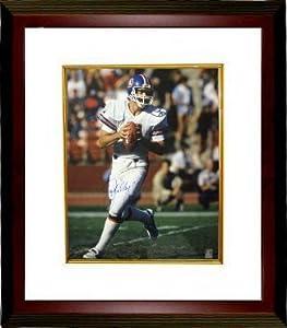 John Elway Autographed Hand Signed Denver Broncos 16X20 Photo Custom Framed- Elway... by Hall of Fame Memorabilia