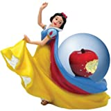 Disney Motif Globe with Snow White Figurine & Poisoned Apple Design
