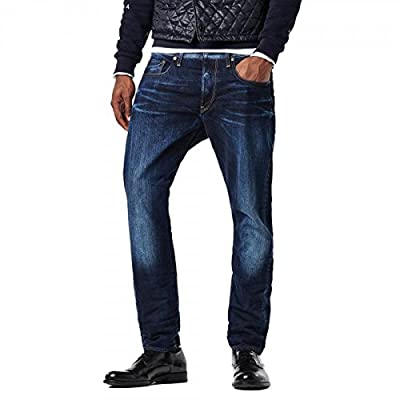 G-Star Men's 3301 Wisk Denim Tapered Jeans