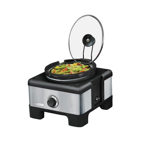 Big Save! Bella 14012 Linkable Slow Cooker System, Stainless Steel