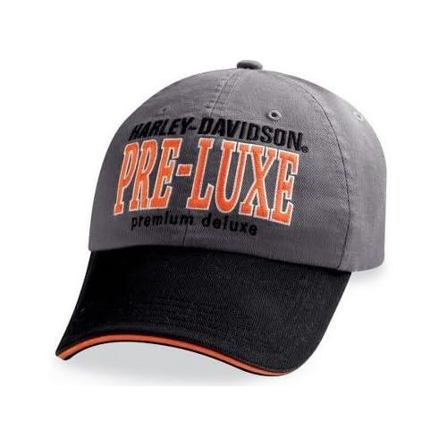 Harley Davidson® Mens Pre Luxe Baseball Cap Hat