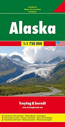 Alaska 1:1.750.000 (Auto karte)