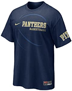 Nike Pitt Panthers Blue 2011 Basketball Practice T Shirt by Nike