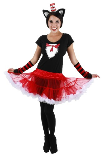 elope Cat In The Hat Adult Tutu Costume