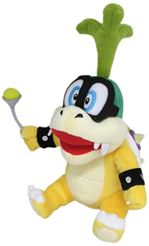 "Little Buddy Super Mario Series Iggy Koopa 8"" Plush"