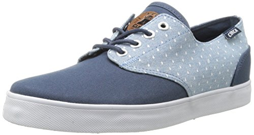 C1RCA Men's AL13 Fashion Sneaker,Mood Indigo/Raindrop Chambray,7 M US