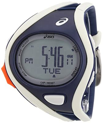 Asics Unisex Challenge CQAR0303 Grey Polyurethane Quartz Watch with Digital Dial by Asics