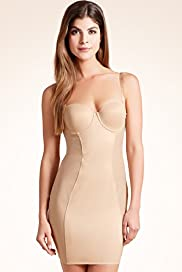 Body Solutions Firm Control Multiway Panelled Dress Slip up to E Cup