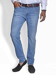 Scorzio Men's Regular Fit Jeans (SZ0002_3_Blue_34)