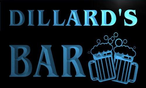 cartel-luminoso-w001062-b-dillard-name-home-bar-pub-beer-mugs-cheers-neon-light-sign