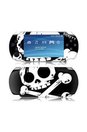 MusicSkins Rockett - Rockett Skull - Gaming Skins,Accessories for Unisex, Sony PSP 3000,Black