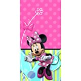 Disney Minnie Mouse Bow-tique Plastic Tablecover Party Accessory