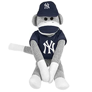 MLB New York Yankees Uniform Sock Monkey by Forever Collectibles