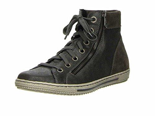Rieker - Sneaker Donna , Grigio (grigio), 39 EU