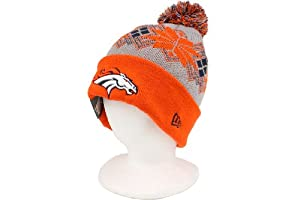 New Era Intarsia Pom Knit Hat by New Era
