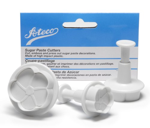 Ateco Set of 3 Sugar Paste Flower Cutters