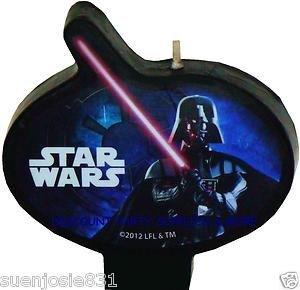 Star Wars Darth Vader Candle
