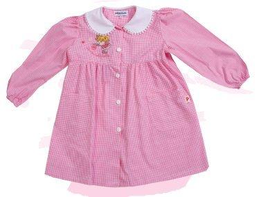 grembiule asilo in promozione bambina (2 - 3 anni, rosa)