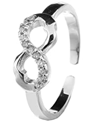 Jewels Cart Sterling Silver Toe Ring For Women - B018QT6IS4