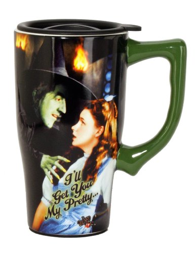 Wizard Of Oz I'll Get You My Pretty Travel Mug, Multi Colored