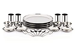 Pigeon Sparkle Lunch Set, 24-Pieces