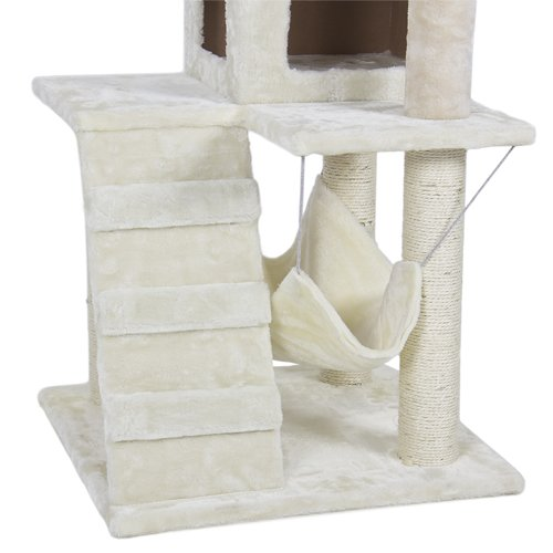 cat tower tree condo scratcher furniture kitten house hammock new   upc   813373018745 deluxe 52 cat tower tree condo scratcher furniture kitten house      rh   saeshin gobizkorea