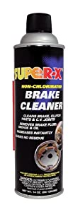 Super-X 830-12PK, Non-Chlorinated Brake Cleaner - Low VOC - 14 oz - Case of 12 from Super-X