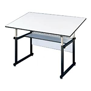 alvin workmaster adjustable drafting table office products