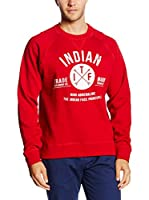 THE INDIAN FACE Sudadera (Rojo)