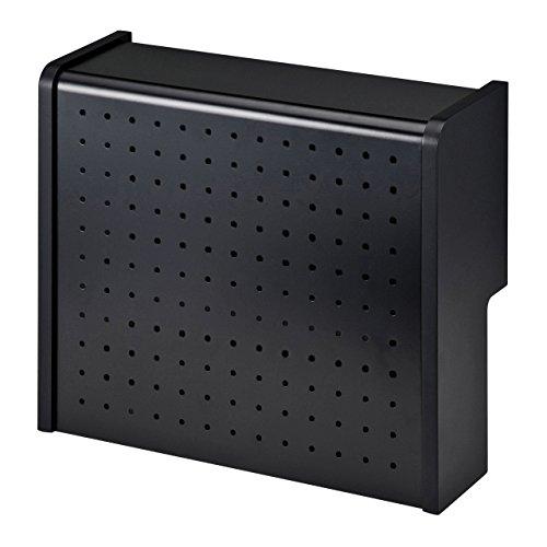 サンワサプライ ケーブル&タップ収納ボックス ブラック CB-BOXS5BK