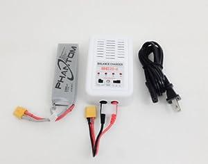DJI Phantom Battery Charger & Battery Original Replacement Set