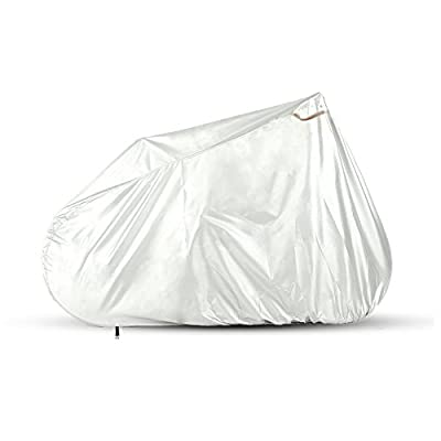 Baleaf 210D Oxford Fabric Heavy Duty Waterproof City Bike Bicycle Cover With Lockhole