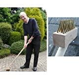 1.2m Long Handle Weed Brush Handle for Cleaning Block Paving / Patios